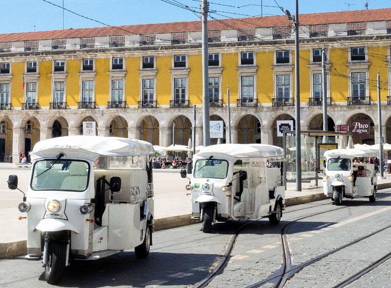 Tuk Tuk Lissabon